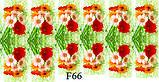 Слайдер дизайн для ногтей цветочные, фото 10