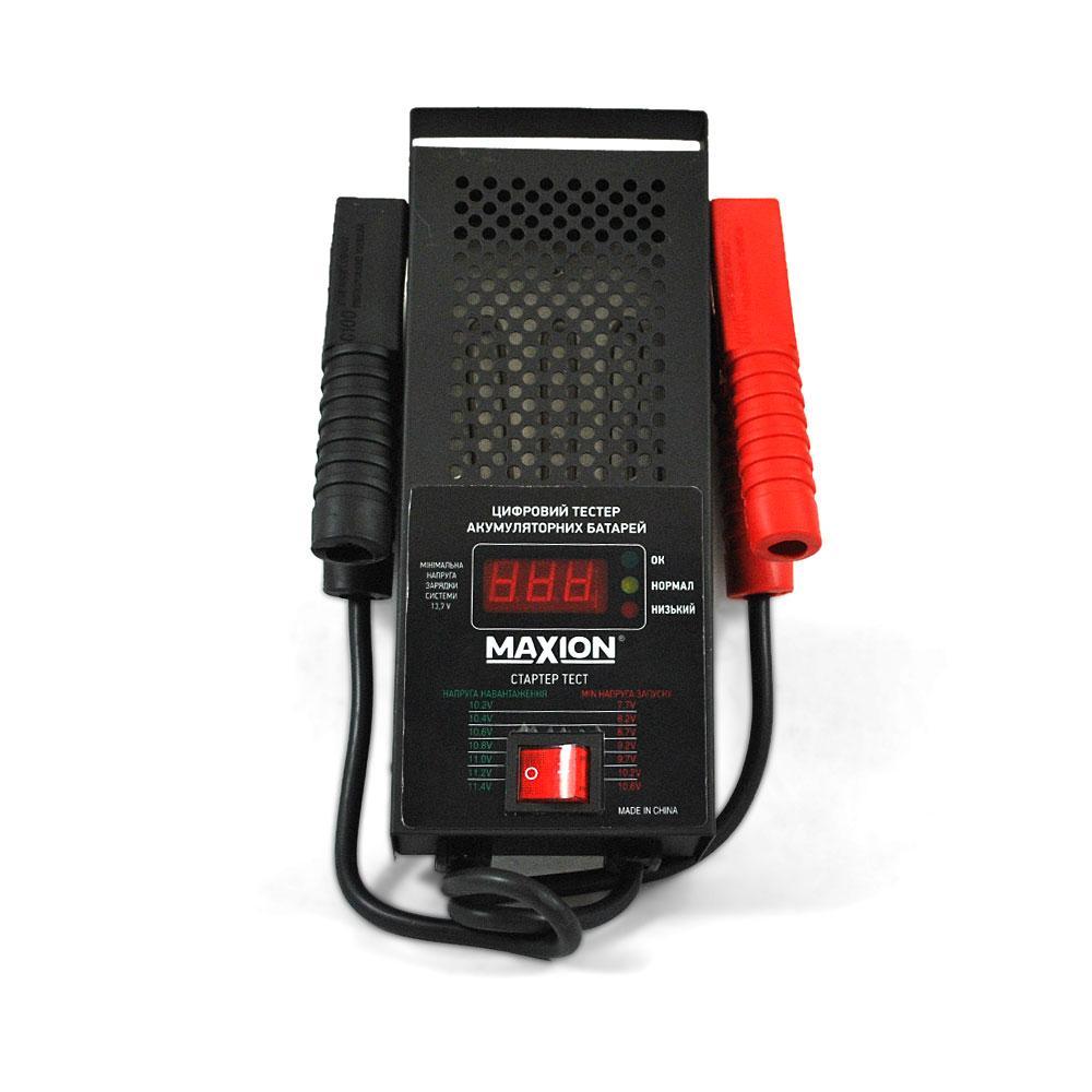 Тестер / Навантажувальна вилка для автомобільних акумуляторів MAXION PLUS-LT07