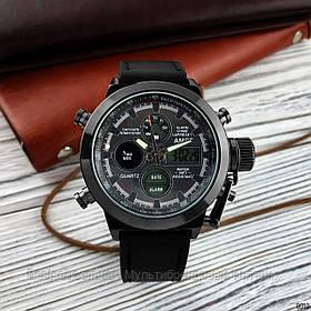 Оригінальні наручні чоловічі годинники AMST 3003 All Black