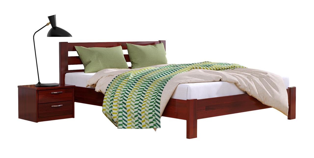 Кровать деревянная Рената Люкс Щит ТМ Эстелла