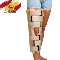 Тутор на колено IR 7000 Orliman (бандаж для иммобилизации, фиксатор на коленный сустав)