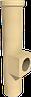 Керамический тройник ревизионный конденсационный 90 ° с выходом 100 SPS WYK Ø200