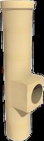 Керамический тройник ревизионный конденсационный 90 ° с выходом 100 SPS WYK Ø80
