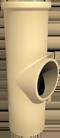 Керамический тройник ревизионный WY Ø140