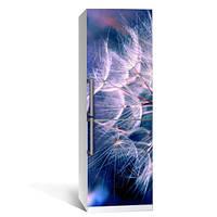 Интерьерная наклейка на холодильник Одуванчик 01 пленка самоклеющаяся глянцевая с Ламинацией 600*2000 мм