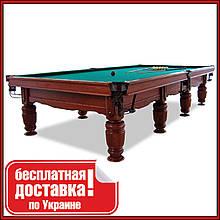 Бильярдный стол для пула Виват 10 футов Ардезия 2.8 м х 1.4 м из натурального дерева