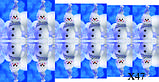 Слайдер дизайн для ногтей Снеговики Новый Год, фото 6
