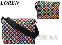 Сумка почтальонка Loren TN-3029 9005 разноцветная