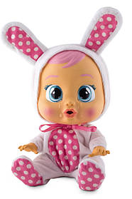 Інтерактивна лялька плакса Зайчик Коні Плаче немовля Cry Babies Coney Baby