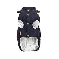 Куртка с капюшоном для животных Hoopet HY-1013 Темно-синий M (6390-20696)