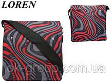 Сумка почтальонка Loren TN-1029 947 разноцветная