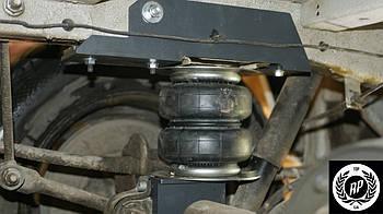 Комплект пневмоподвески Мерседес Спринтер (411-416). Пневмоподвеска Mercedes Sprinter Classic дополнительная..
