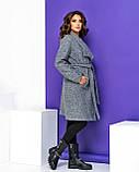 Кардиган-пальто женский букле с начёсом (3 цвета, р.44,46,48,50), фото 3