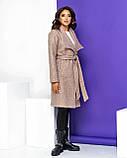 Кардиган-пальто женский букле с начёсом (3 цвета, р.44,46,48,50), фото 6