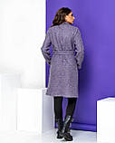 Кардиган-пальто женский букле с начёсом (3 цвета, р.44,46,48,50), фото 10