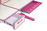 Растущий комплект для девочки парта Cubby Ammi Pink + кресло для дома FunDesk Primo Grey, фото 3