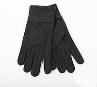 Зимние перчатки флис коричневый