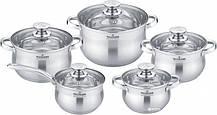 Набор посуды 10 предметов MAXMARK MK-BL2510