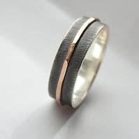 """Обручлаьное кольцо """"Золотая линия"""" от WickerRing"""