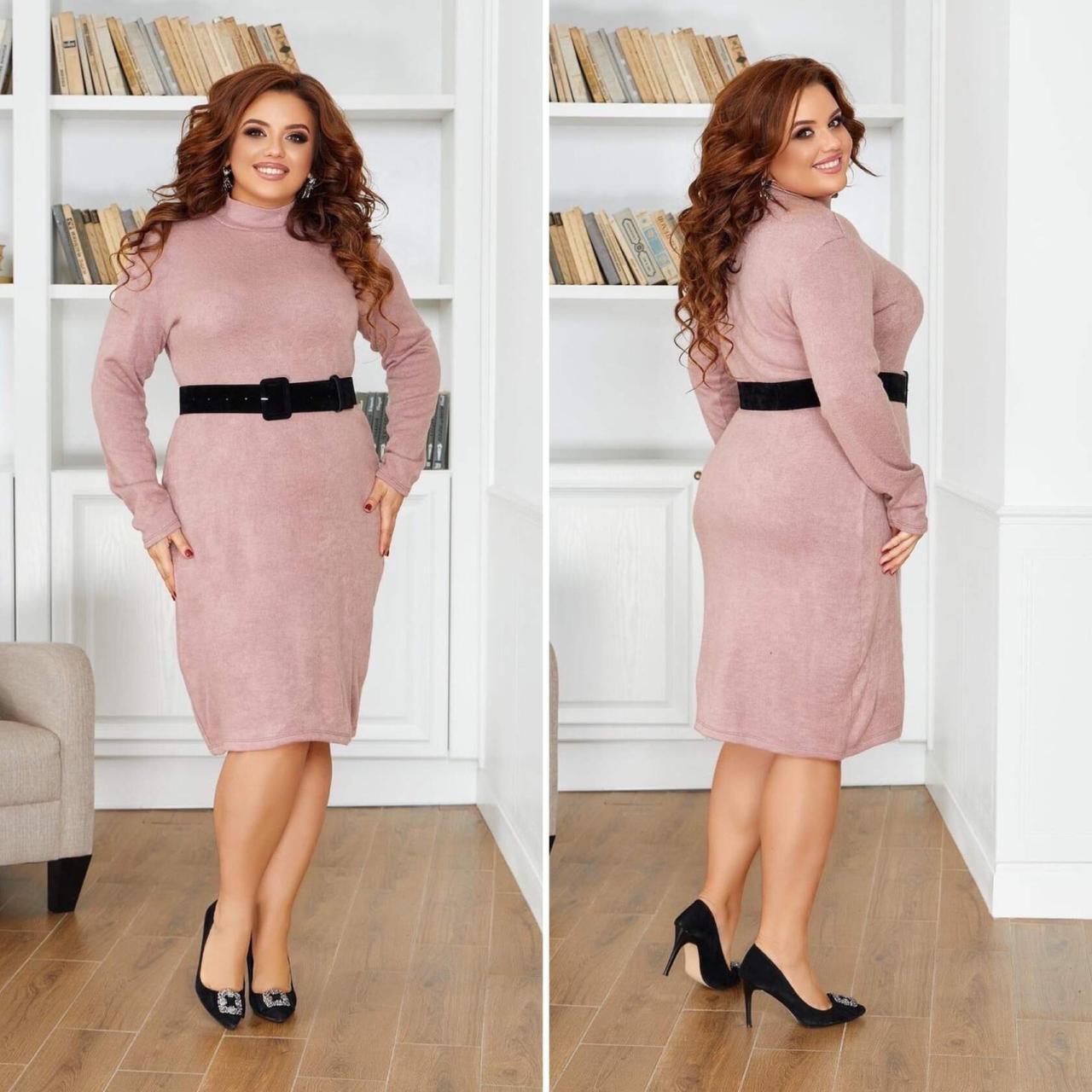 """Великолепное женское платье, ткань """"Трикотаж Ангора"""" 48, 50, 52, 54, 56 размер 48"""