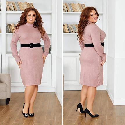 """Великолепное женское платье, ткань """"Трикотаж Ангора"""" 48, 50, 52, 54, 56 размер 48, фото 2"""