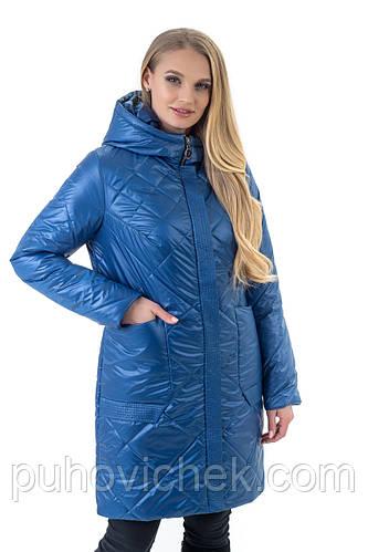 Удлиненные куртки женские демисезонные размеры 44-60