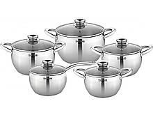 Набор посуды 10 предметов MAXMARK MK-APP7510