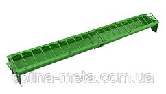 Кормушка для домашней птицы лоточная пластиковая, 100 х 16 см River Италия