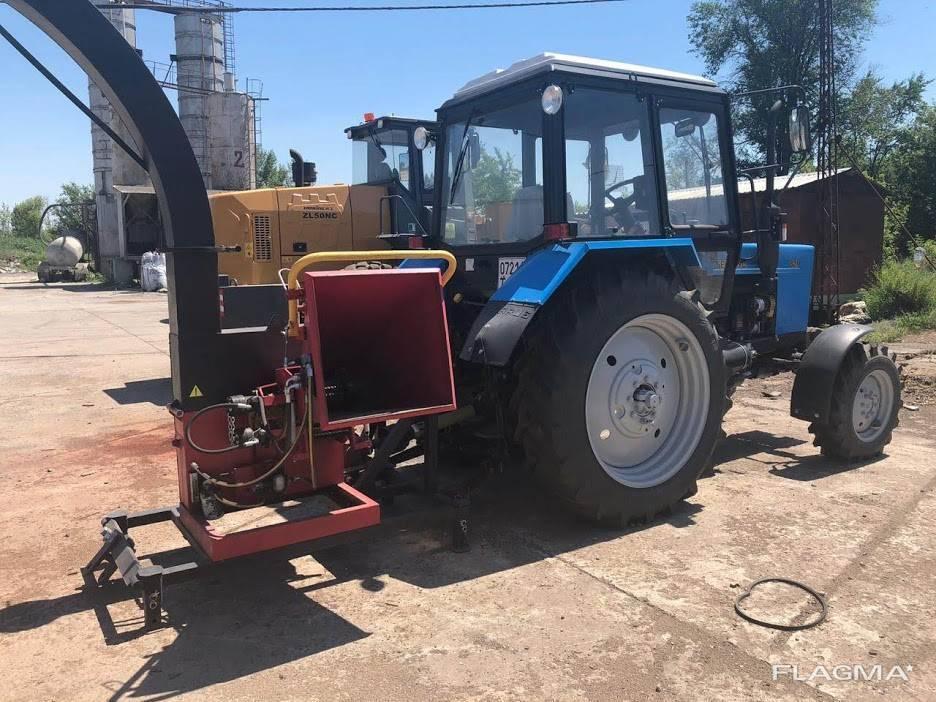 Деревоподрібнююча машина РМ160ТК (навісна на трактор, кутова) - щепоріз