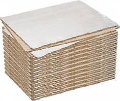 Картон базальтовый теплоизоляционный с фольгой