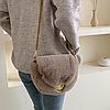 Меховая сумочка через плечо, фото 4