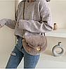 Меховая сумочка через плечо, фото 7