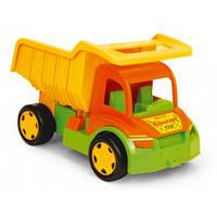 Большой игрушечный грузовик Wader (без картона)