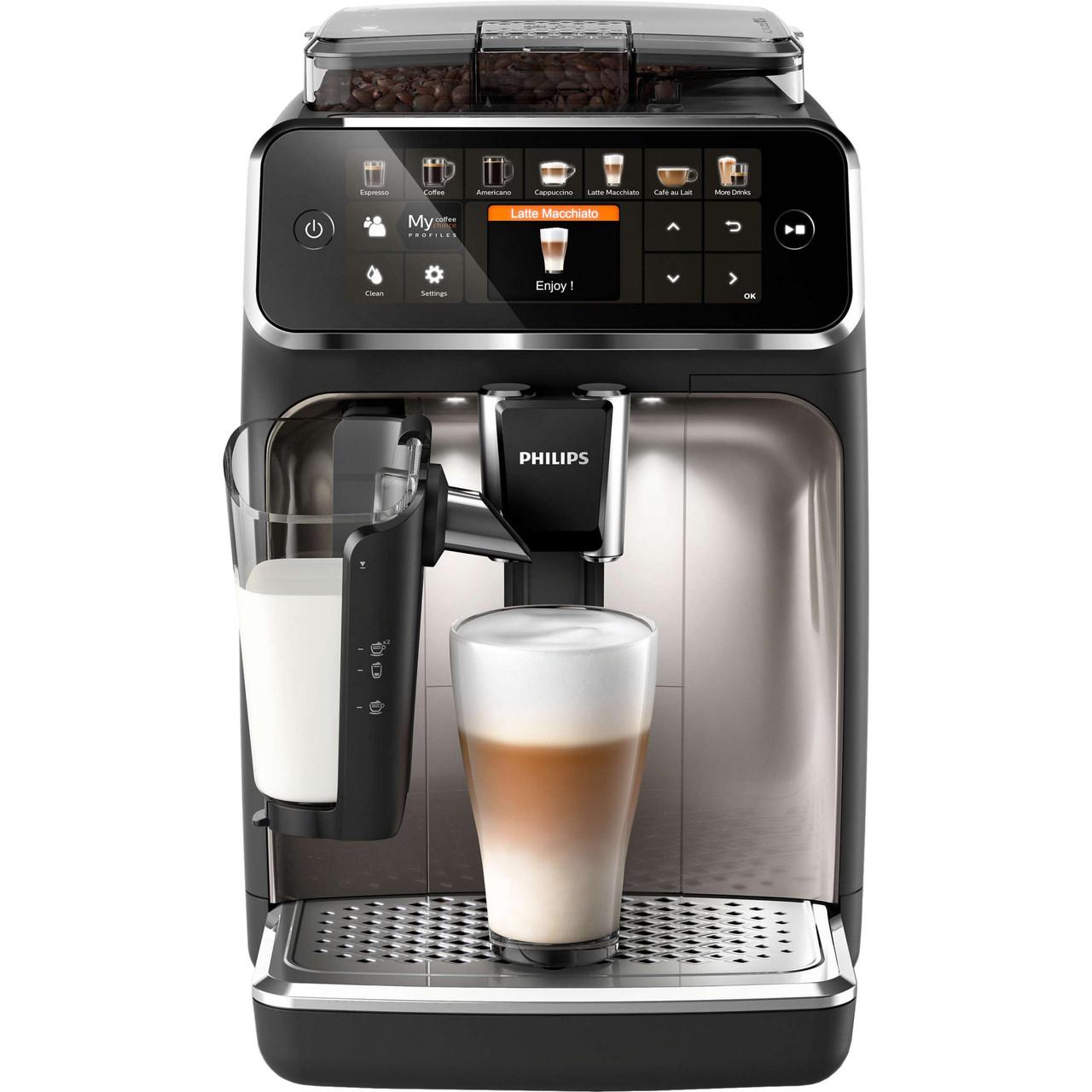 Кофемашина автоматическая Philips LatteGo 5400 Series EP5447/90