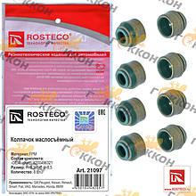 """Колпачки маслосъёмные Renault (к-т 8 шт) """"ROSTECO"""""""