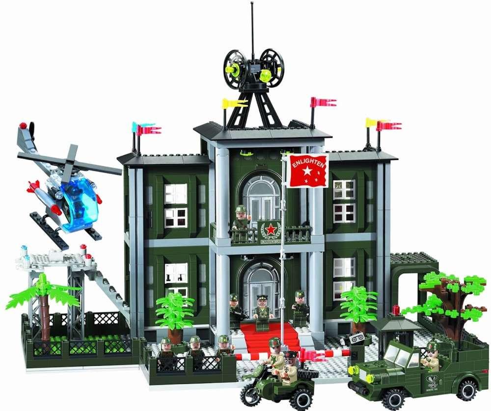 Конструктор Brick 825 Штабквартира