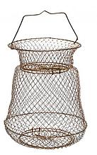 Садок рыболовный металлический 35см