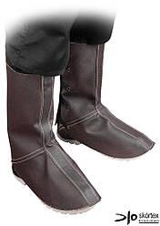 Защита кожаная колен и стопы для сварщика NNL