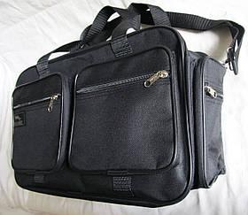 Мужская сумка Wallaby через плечо дорожная крепкая и вместительная А4+ сумки мужские 8w2691 черная