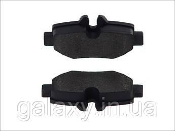 Гальмівні колодки задні Mercedes Vito / Viano W639 2003 -
