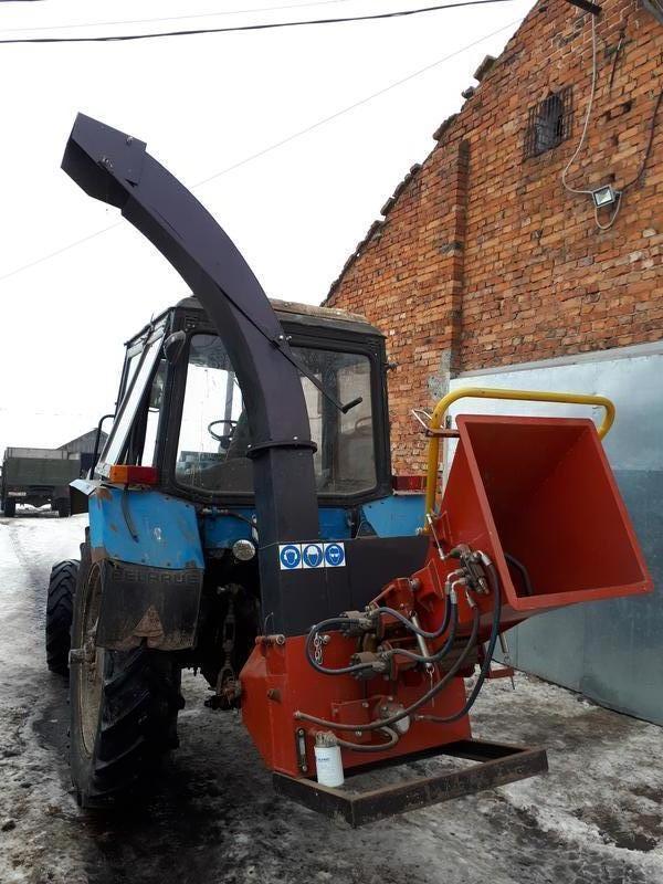 Деревоподрібнююча машина РМ160Т (навісна на трактор) - щепоріз
