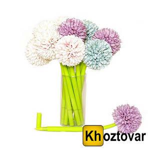 Гелевая ручка с цветком