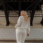 Женский костюм молоко 42-44, 46-48 и 50-52 трикотаж-кашкорсе SKL11-250662, фото 2