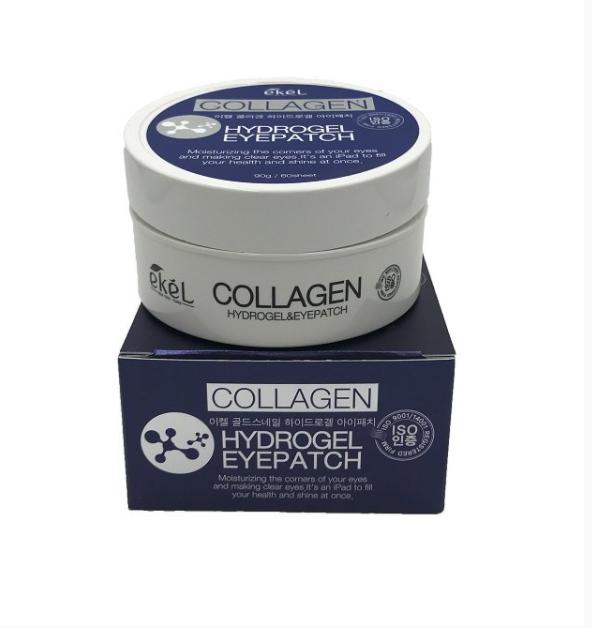 Гидрогелевые патчи с коллагеном Ekel Collagen Hydrogel Eye Patch, Экель