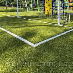 Укладка искусственной травы на детском футбольном поле в детском саду, Бориспольская 28/1, 293 кв. м.