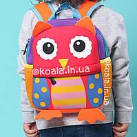 Детский рюкзак дитячий дошкольный для девочки Сова