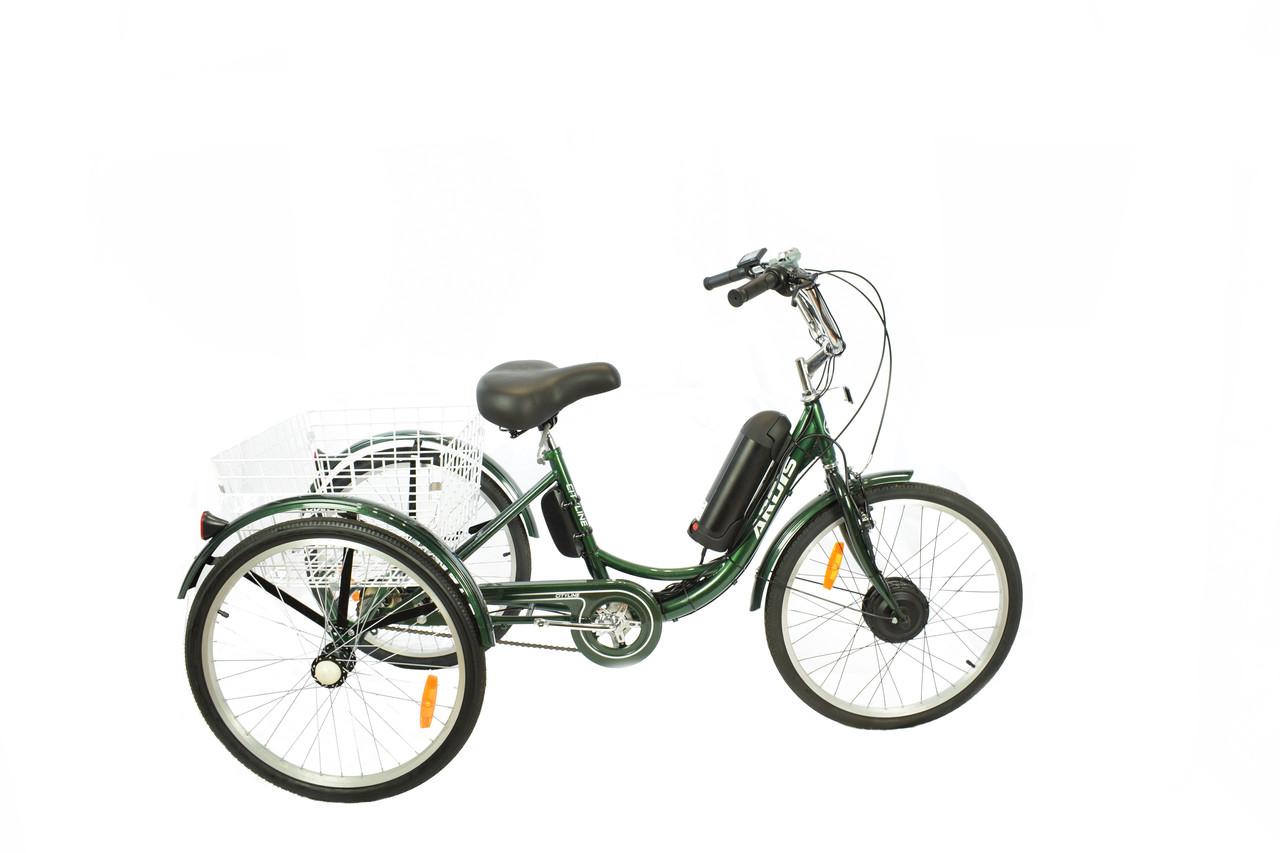 """Триколісний вантажний електровелосипед Ardis City Line 24"""""""