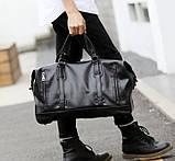 Стильна чоловіча міська сумка екошкіра, фото 6