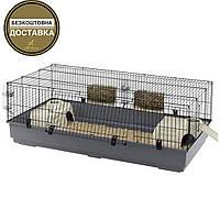 Просторная клетка для кроликов и морских свинок Ferplast Rabbit 140 (140 х 51 х 71 см)
