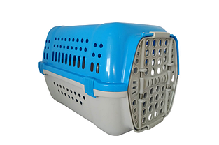 Переноска Animall Р 990 для кошек и собак 49х35х32.5 см голубая
